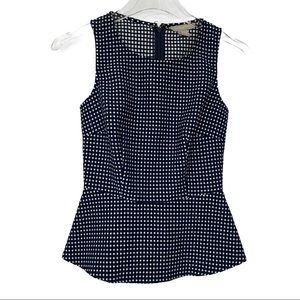 Banana Republic Polka Dot Sleeveless Top Size 00P